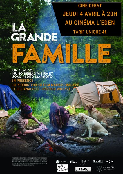 """CINÉ-DÉBAT """"LA GRANDE FAMILLE"""""""